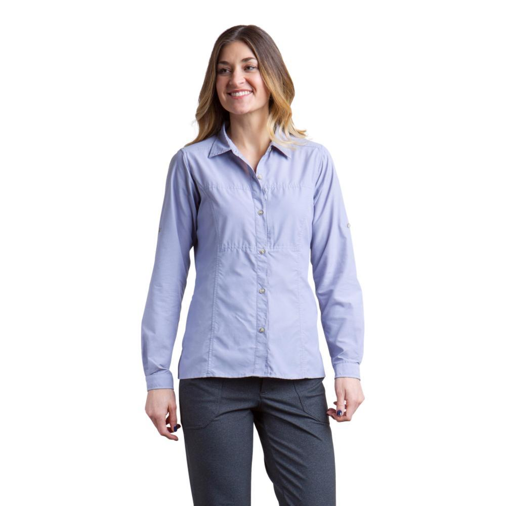 ExOfficio Women's Lightscape Long Sleeve Shirt LILACGREY