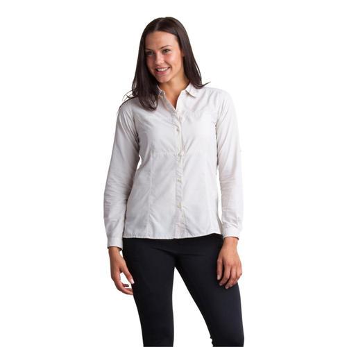 ExOfficio Women's Lightscape Long Sleeve Shirt Malt