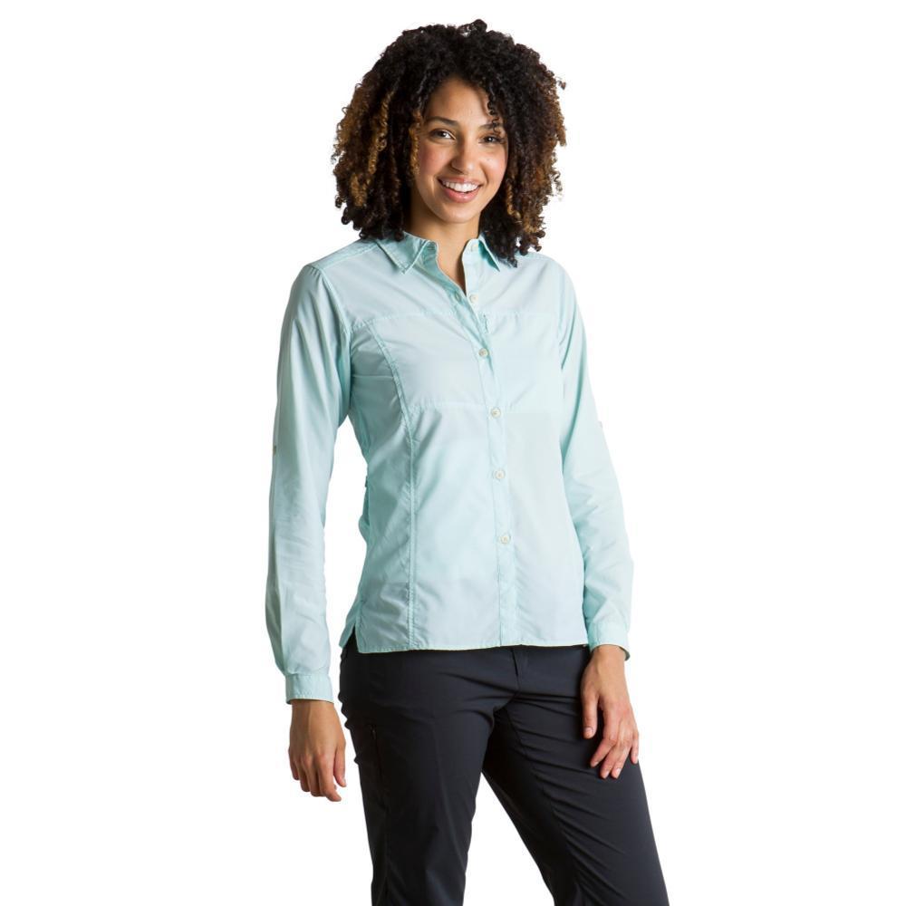 ExOfficio Women's Lightscape Long Sleeve Shirt TOURMALINE