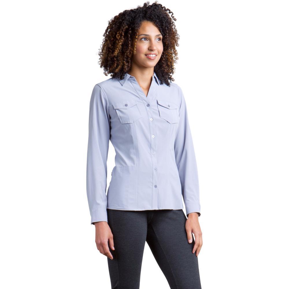 ExOfficio Women's Kizmet Long Sleeve Shirt LILACGREY