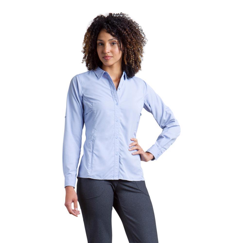ExOfficio Women's BugsAway Viento Long Sleeve Shirt CAPRIBLUE