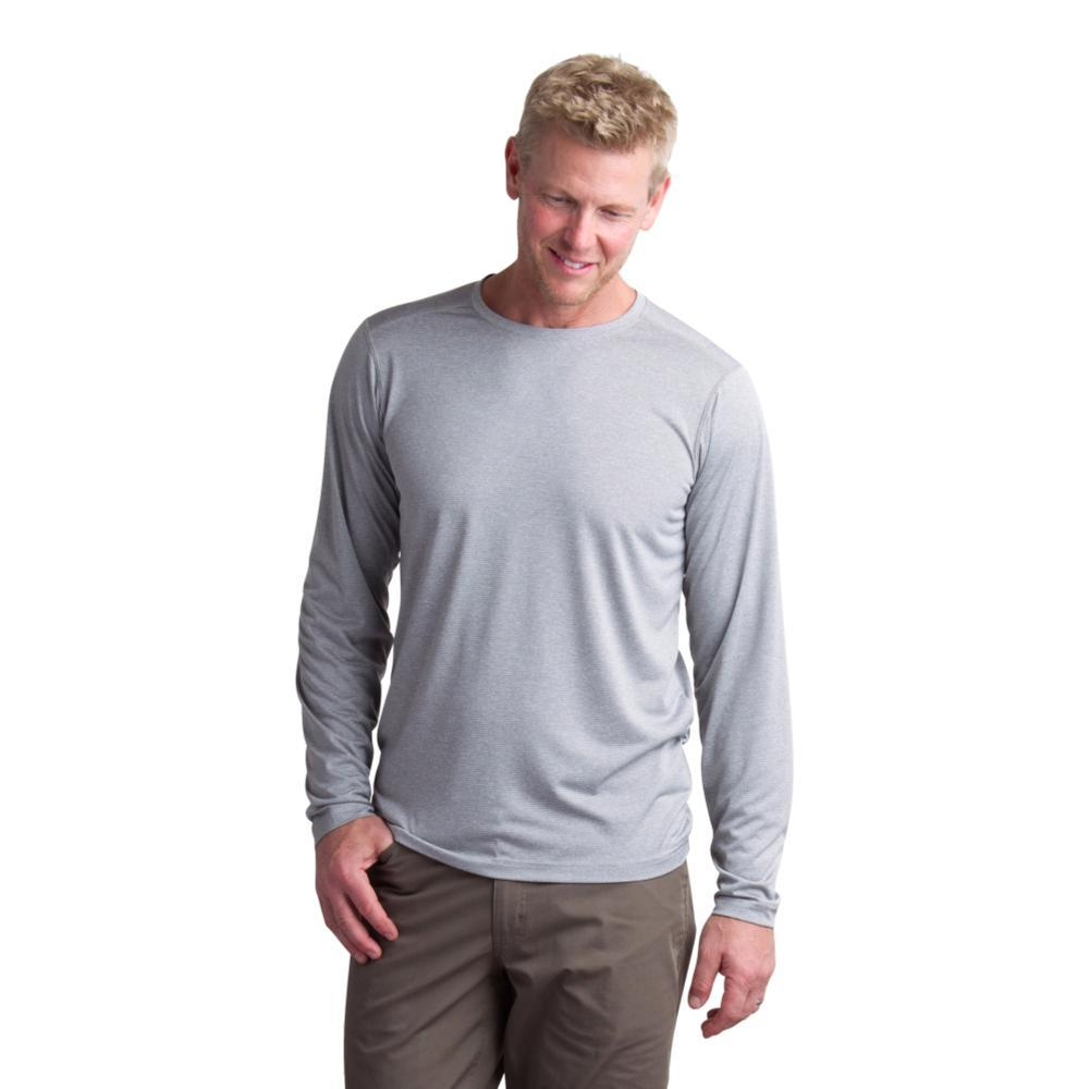 ExOfficio Men's BugsAway Tarka LS Shirt CEMENT