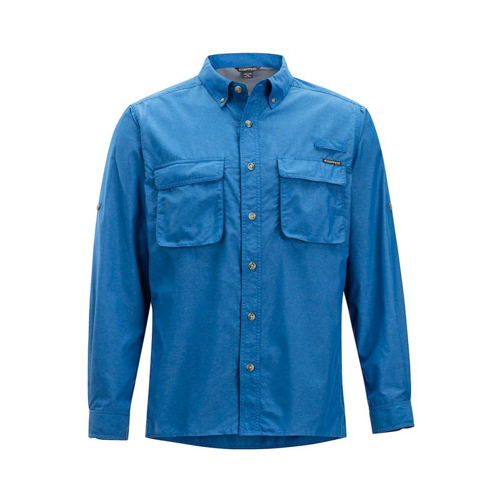ExOfficio Men's Air Strip LS Shirt REGATTA
