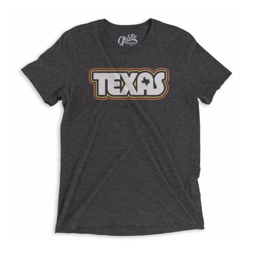 Gusto Tees Unisex Retro Texas T-Shirt