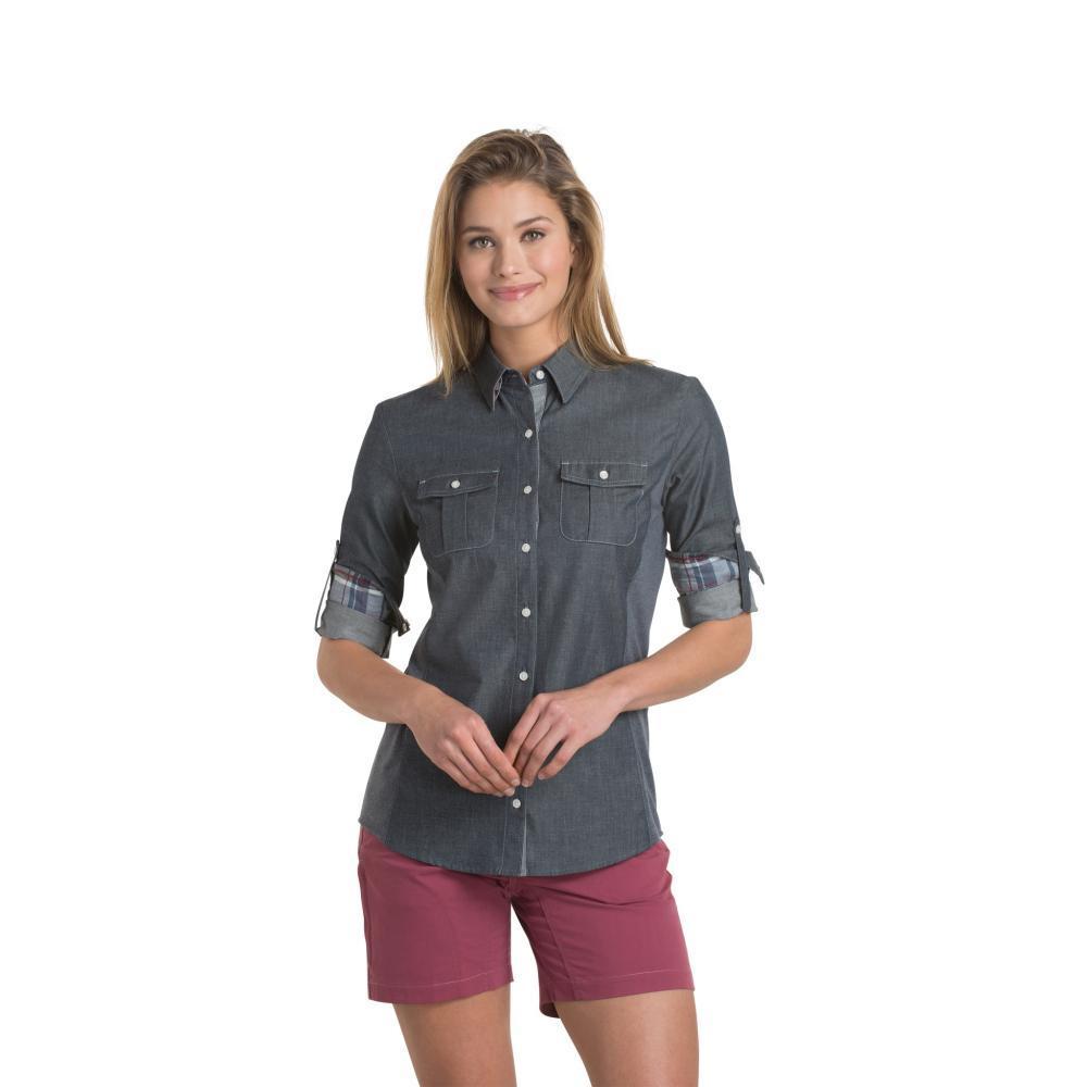 Kuhl Women's Kiley Long Sleeve Shirt VINTINDIGO