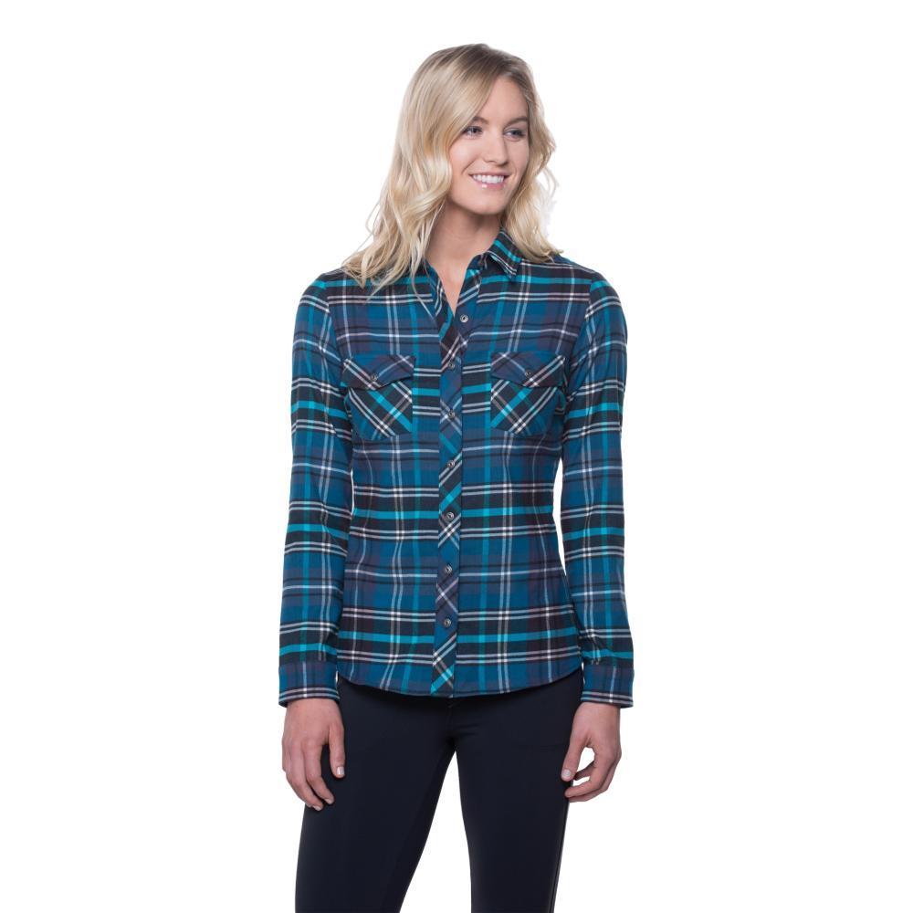 Kuhl Women's Greta Flannel Shirt MARINE