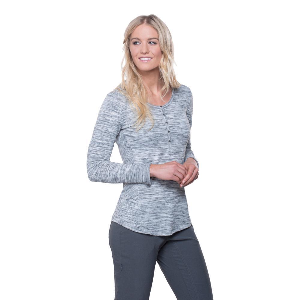 Kuhl Women's Svenna Long Sleeve Shirt ASH