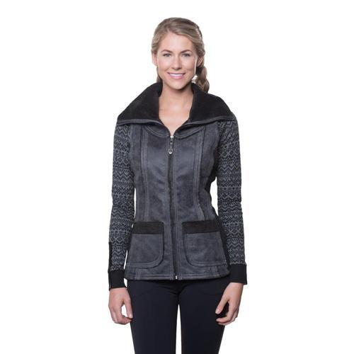 Kuhl Women's Dani Sherpa Vest Raven