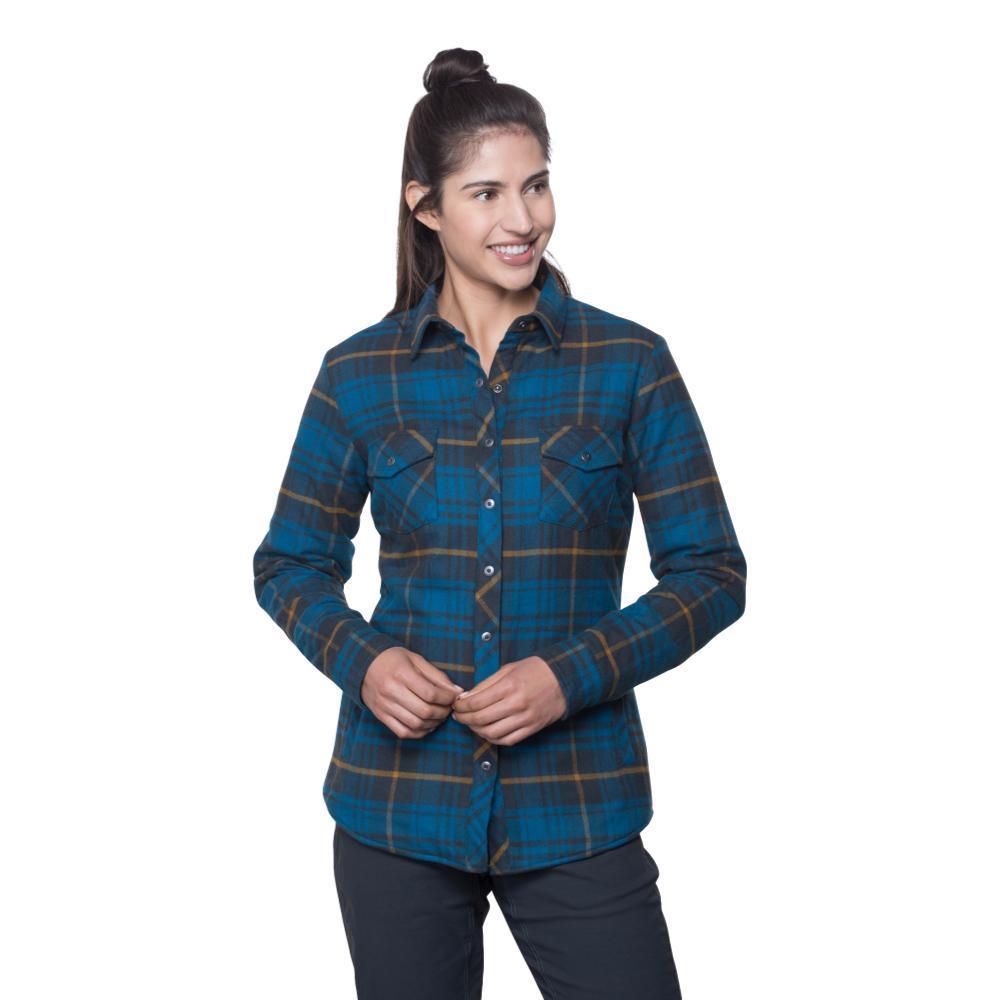 Kuhl Women's Kota Lined Flannel Shirt MARINE