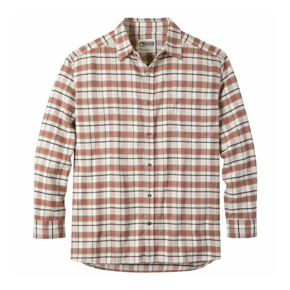 Mountain Khakis Men's Peden Plaid Shirt CREAM