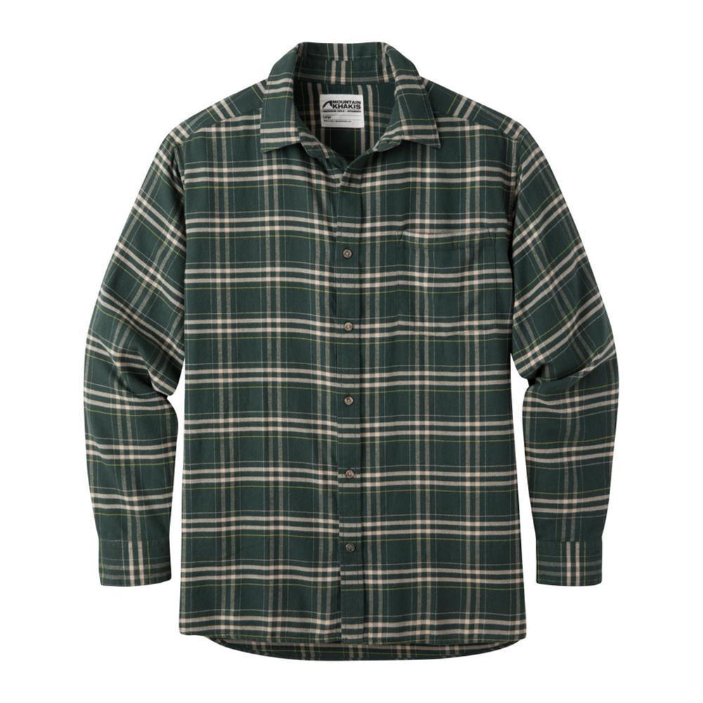 Mountain Khakis Men's Peden Plaid Shirt WINTGREEN