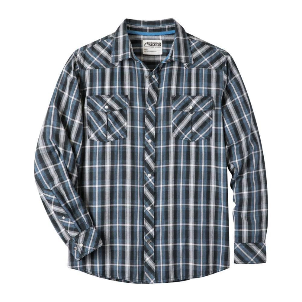 Mountain Khakis Men's Rodeo Long Sleeve Shirt BLUEBIRD
