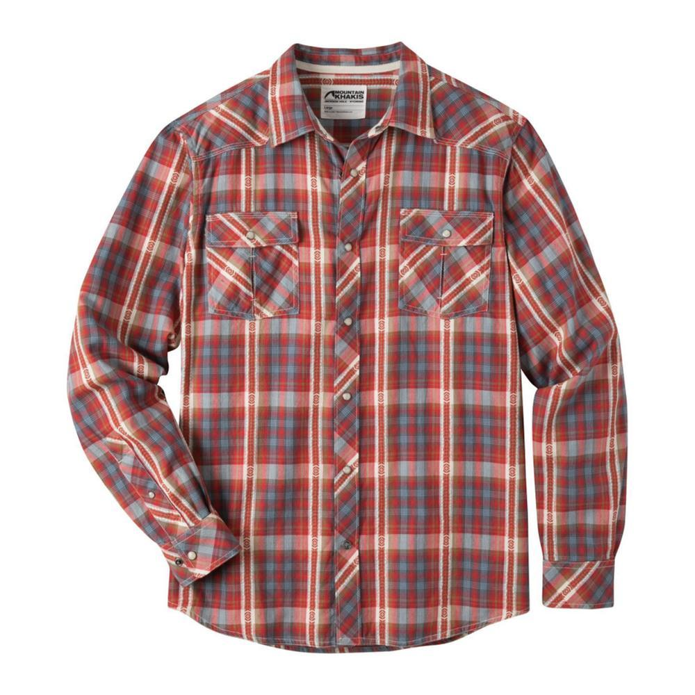 Mountain Khakis Men's Rodeo Long Sleeve Shirt ENGINERED