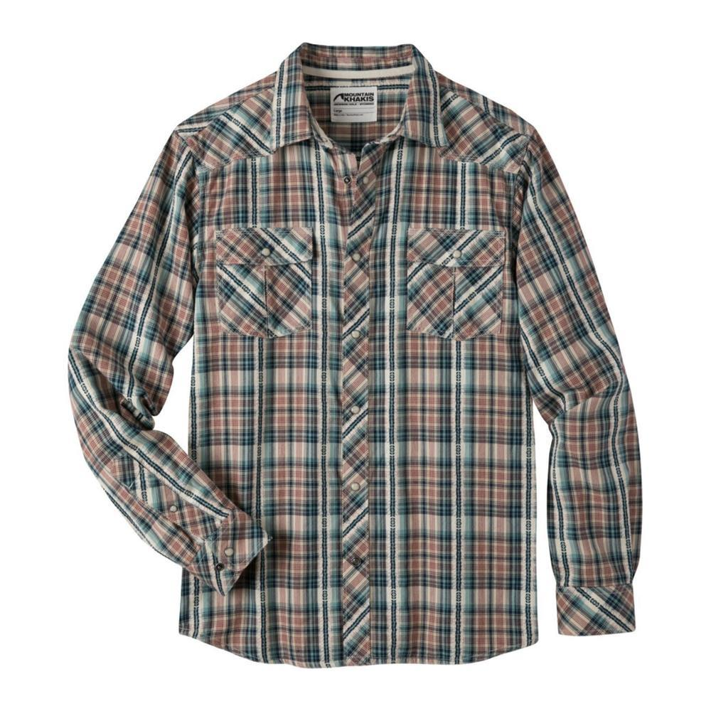Mountain Khakis Men's Rodeo Long Sleeve Shirt TWILIGHT
