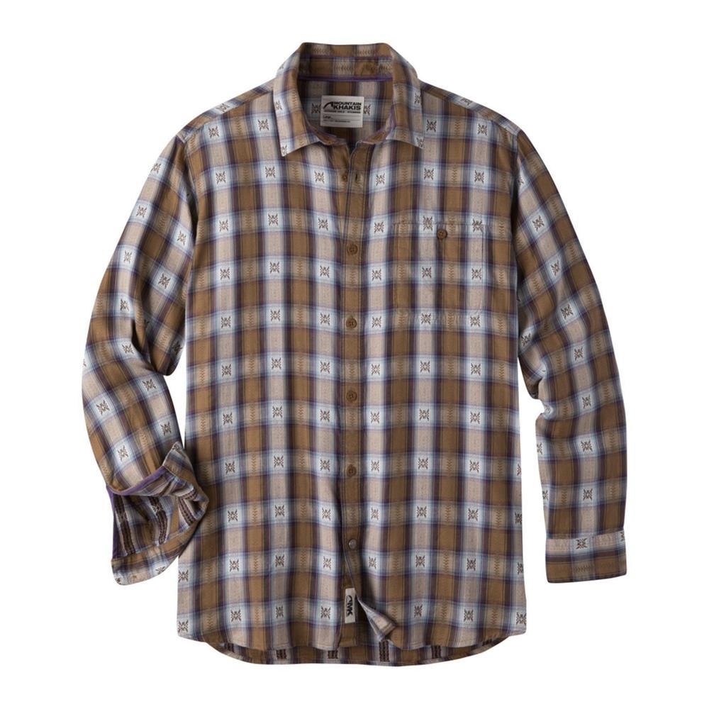 Mountain Khakis Men's Tavern Flannel Shirt TOBACCO