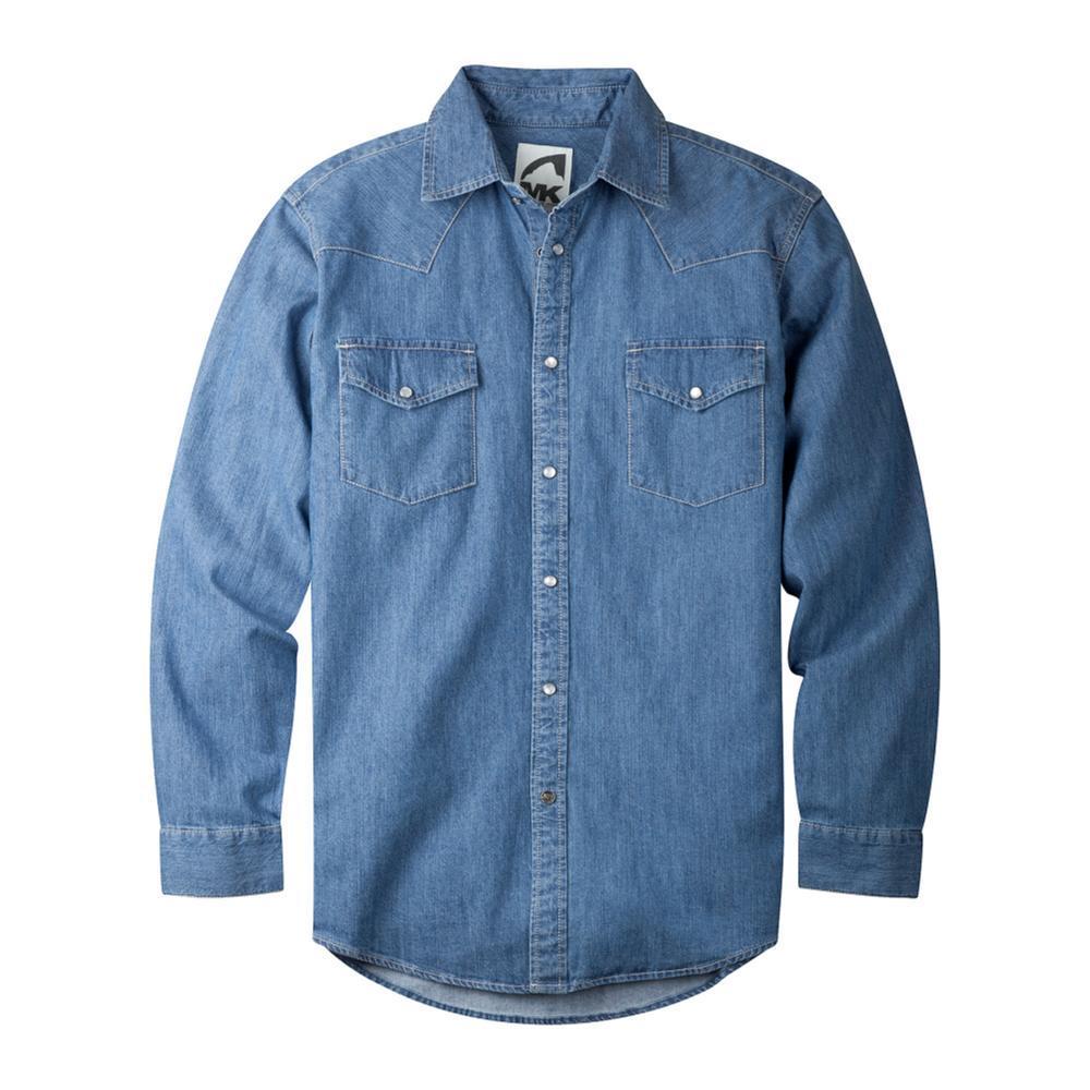 Mountain Khakis Men's Original Mountain Denim Shirt LT.INDIGO