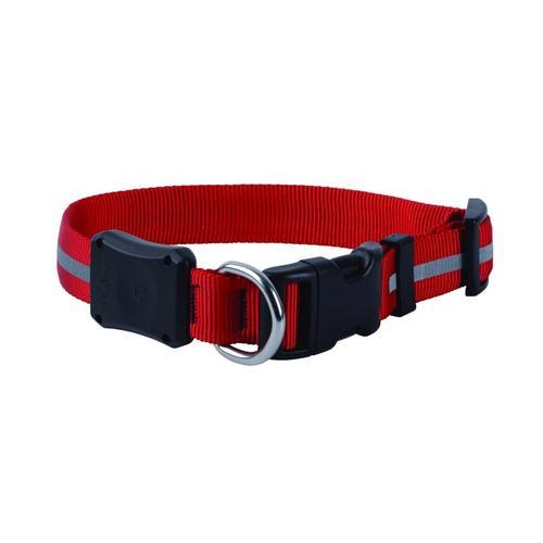 Nite Ize Nite Dawg LED Dog Collar - Medium Red