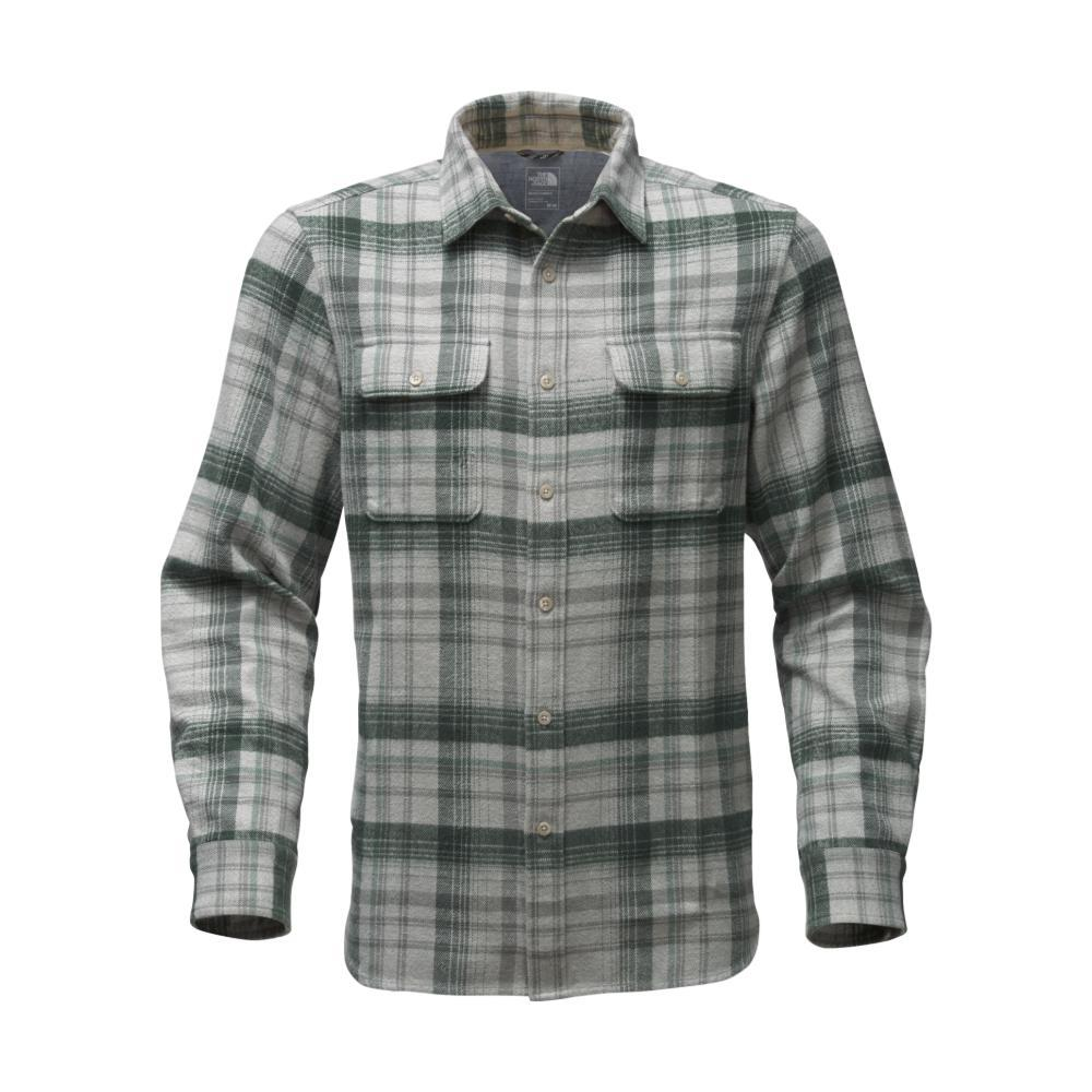 The North Face Men's Long-Sleeve Arroyo Flannel Shirt ABY_HRGREY