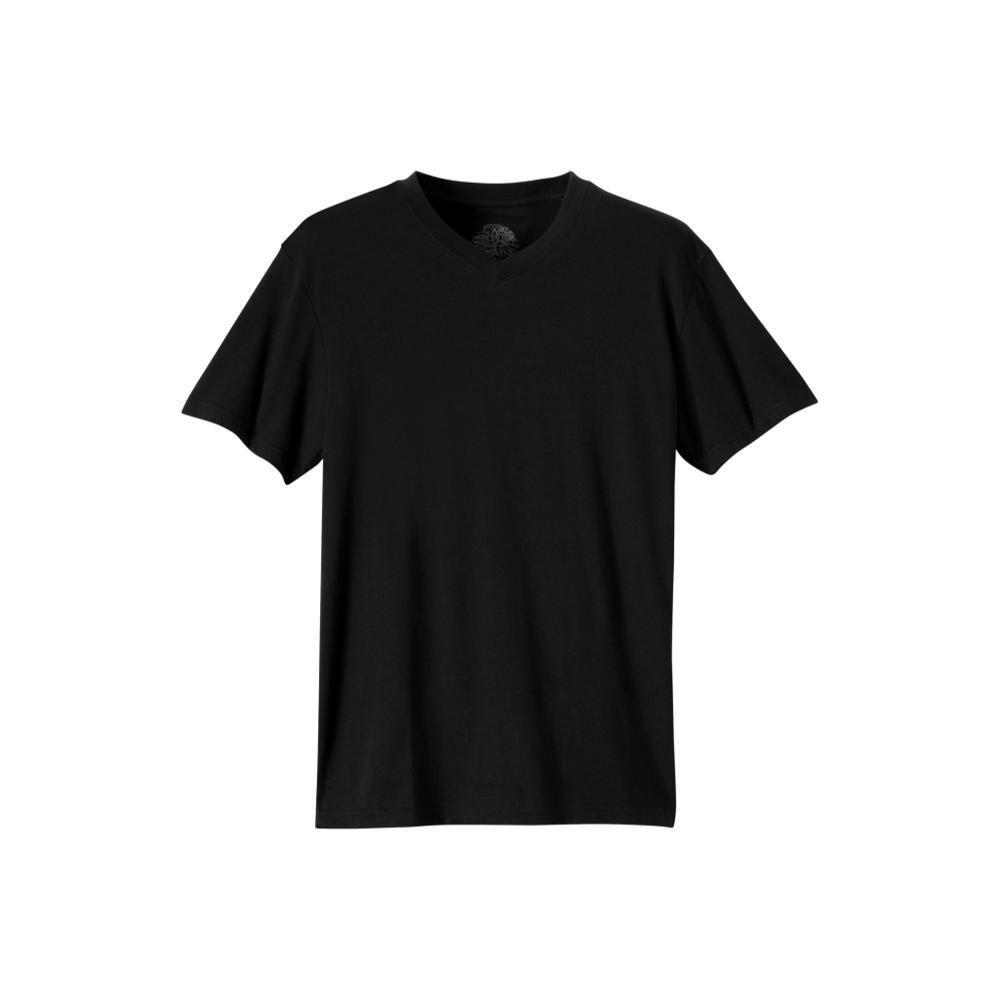 prAna Men's Prana V-Neck Shirt BLACK