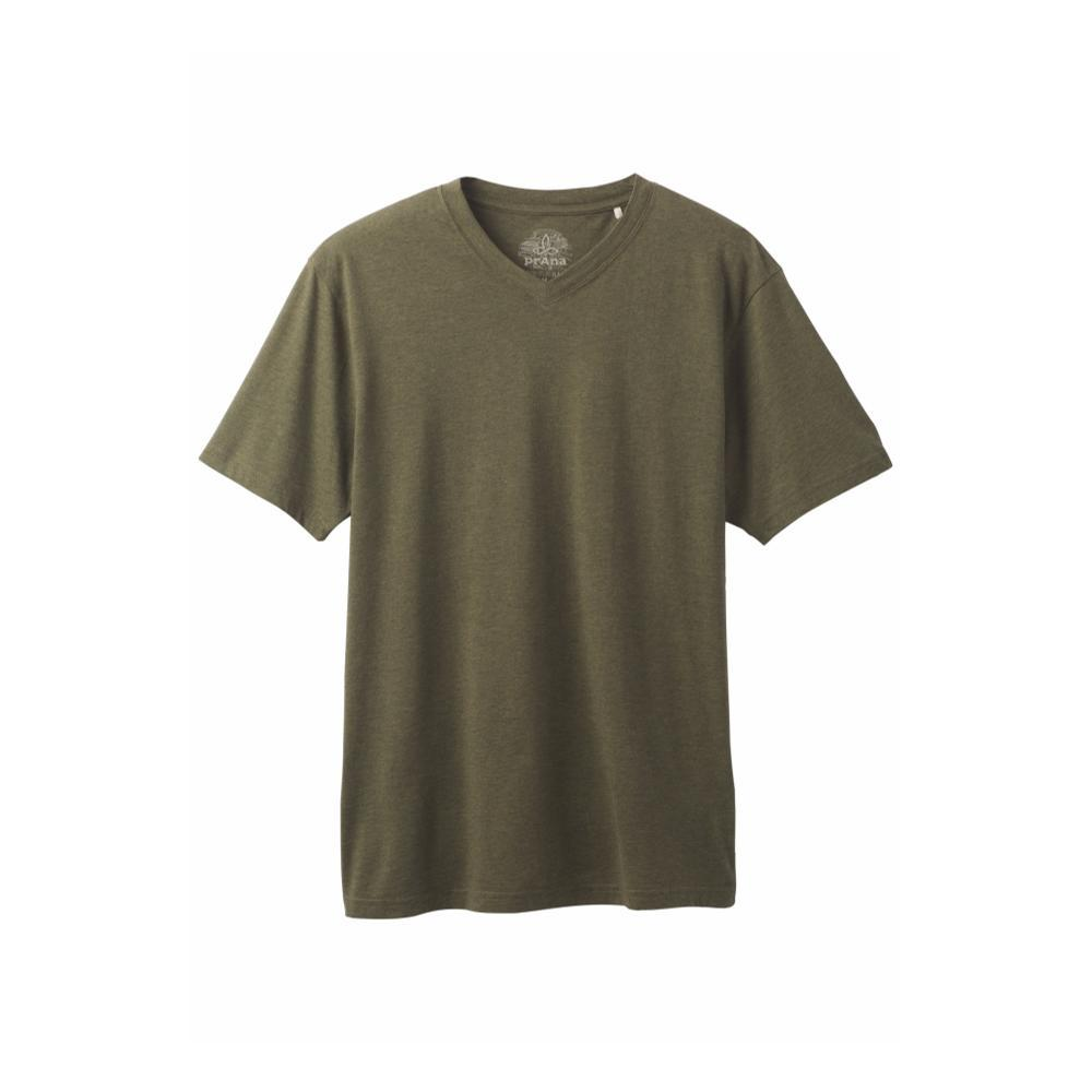 prAna Men's Prana V-Neck Shirt CARGREEN