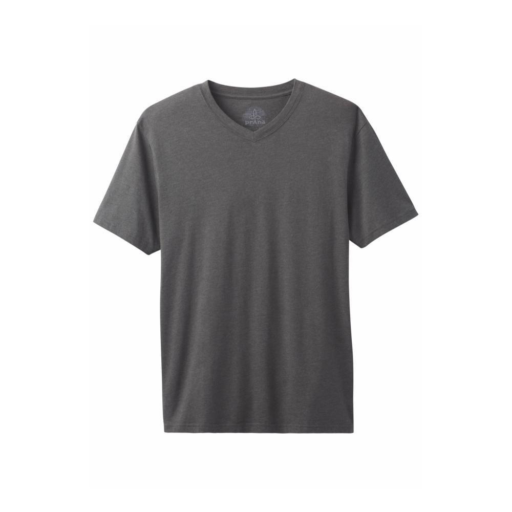 prAna Men's Prana V-Neck Shirt CHARCOAL