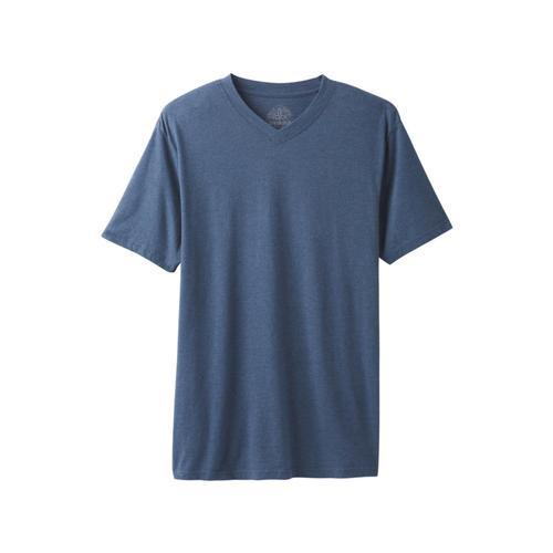 prAna Men's Prana V-Neck Shirt Denimhthr