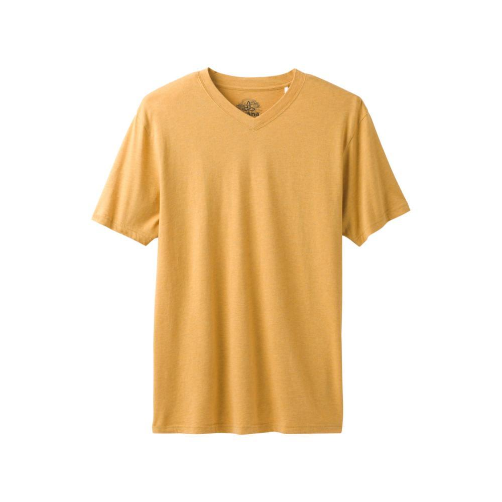 prAna Men's Prana V-Neck Shirt MARIGOLD