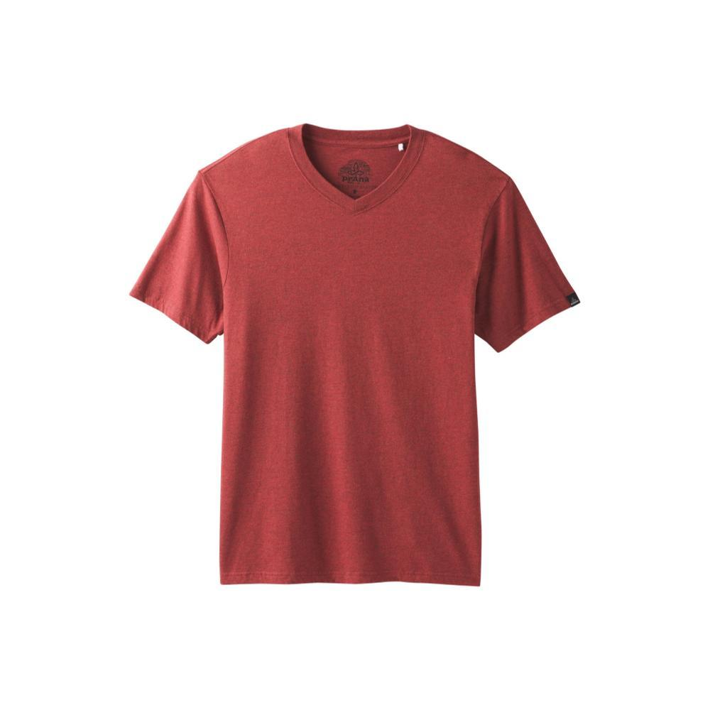 prAna Men's Prana V-Neck Shirt MULLEDWINE
