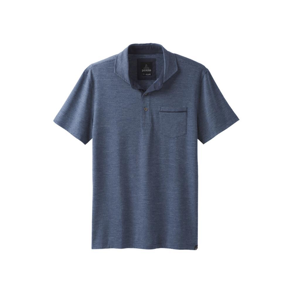 prAna Men's Pacer Polo EQUIBLUE