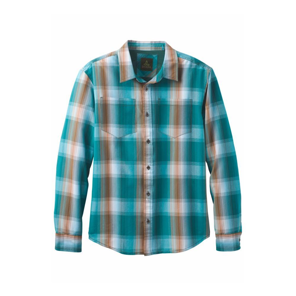 prAna Men's Holton Long-Sleeve Shirt CASTBLUE