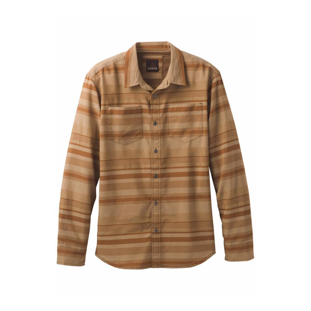 prAna Men's Holton Long-Sleeve Shirt SEPIA