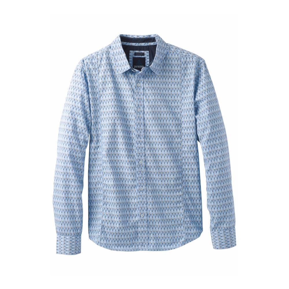 prAna Men's Lukas Slim Shirt APSENBLUE