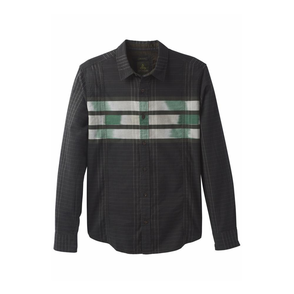 prAna Men's Lukas Slim Shirt DKOLIVE