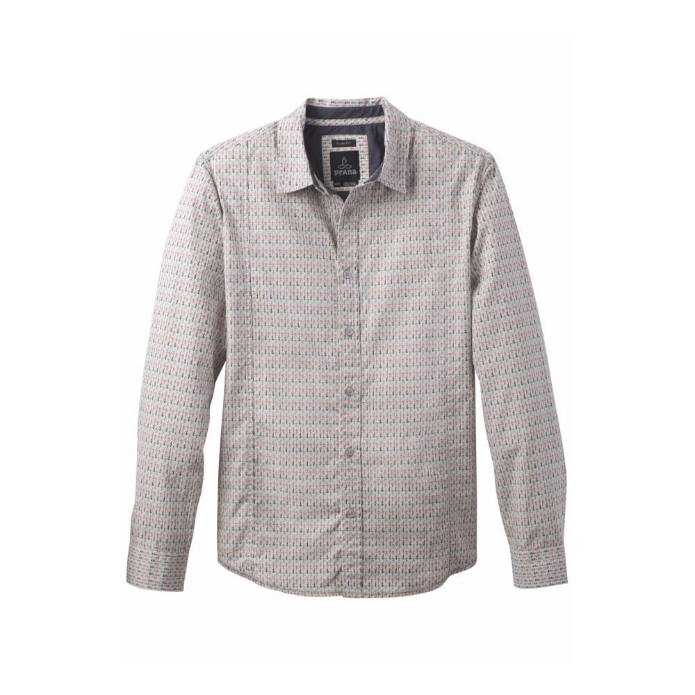 prAna Men's Lukas Slim Shirt GRAVEL