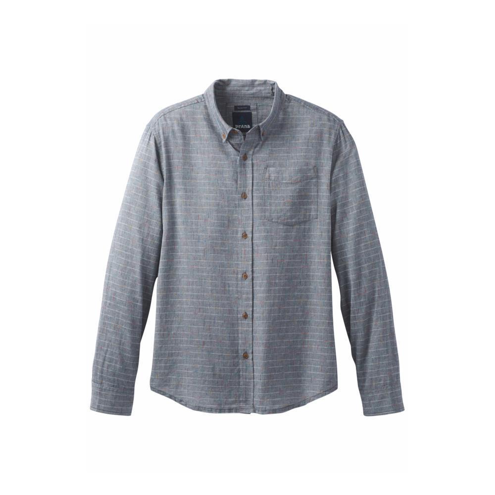 prAna Men's Broderick Slim Shirt NAUTICAL