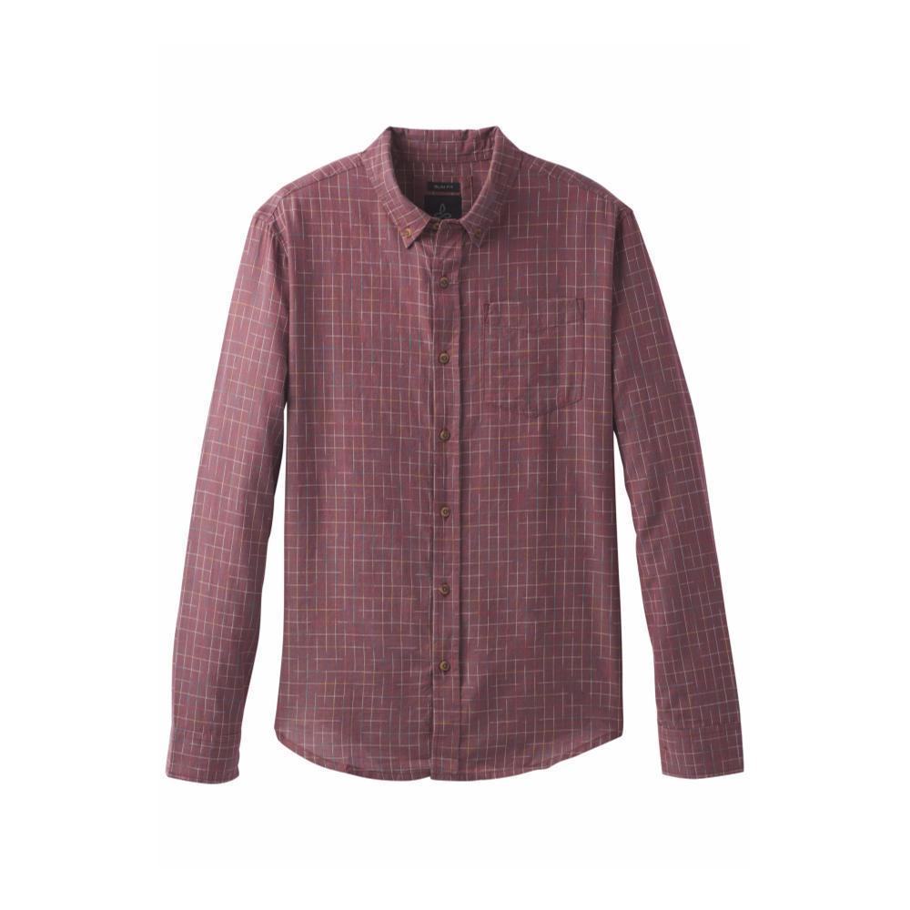 prAna Men's Broderick Slim Shirt NOCRED