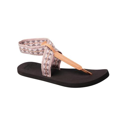 Reef Women's Cushion Moon Print Sandals