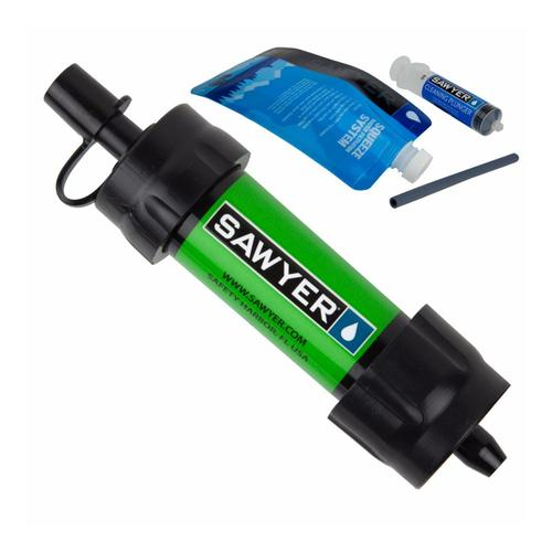 Sawyer Mini Water Filtration System - 16oz Green
