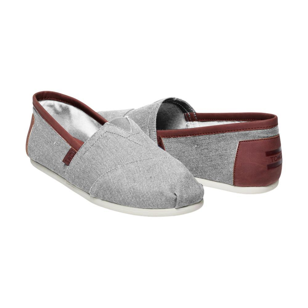 Toms Men's Classics Slip-On Shoes CHAMBRAY