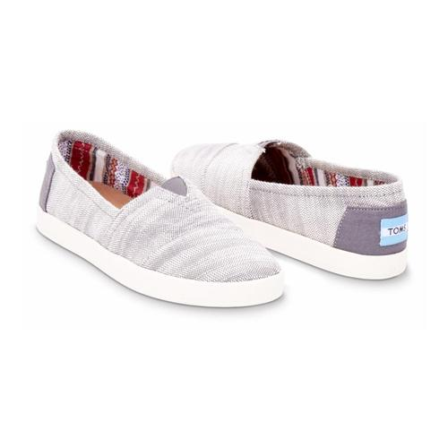Toms Women's Woven Avalon Slip-on Sneakers
