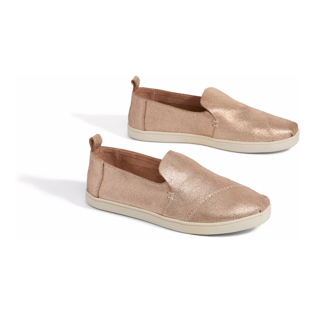 Toms Deconstructed Cupsole Alpargata Slip-on Shoes ROSEGOLD