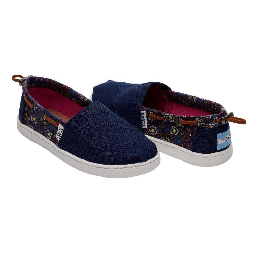 Toms Youth Navy Multi Forest Floral Biminis