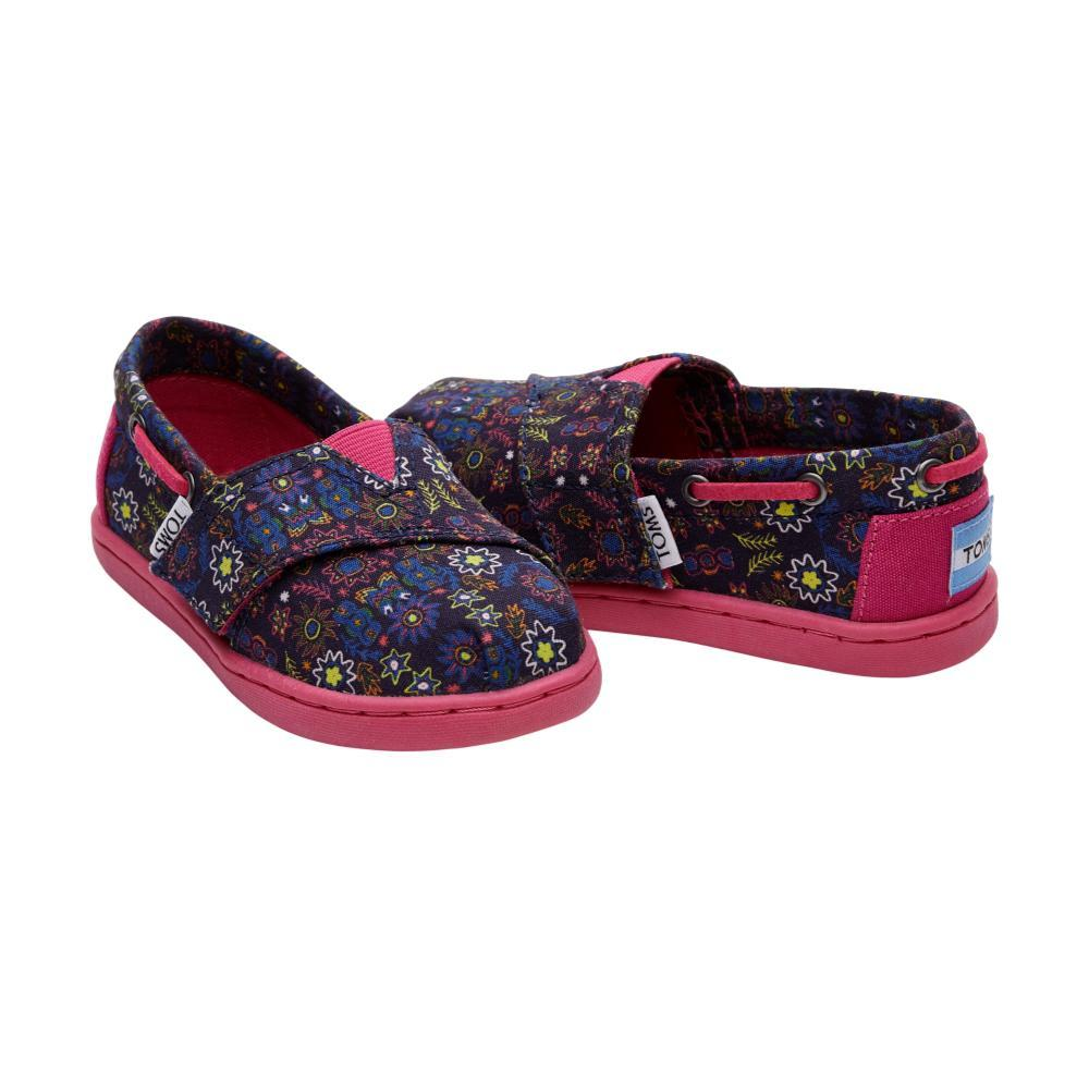 Toms Kids Navy Multi Forest Floral Tiny Biminis