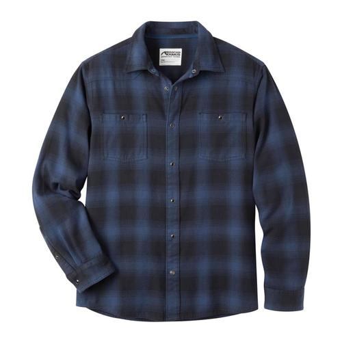 Mountain Khakis Men's Saloon Flannel Shirt TWILIGHT