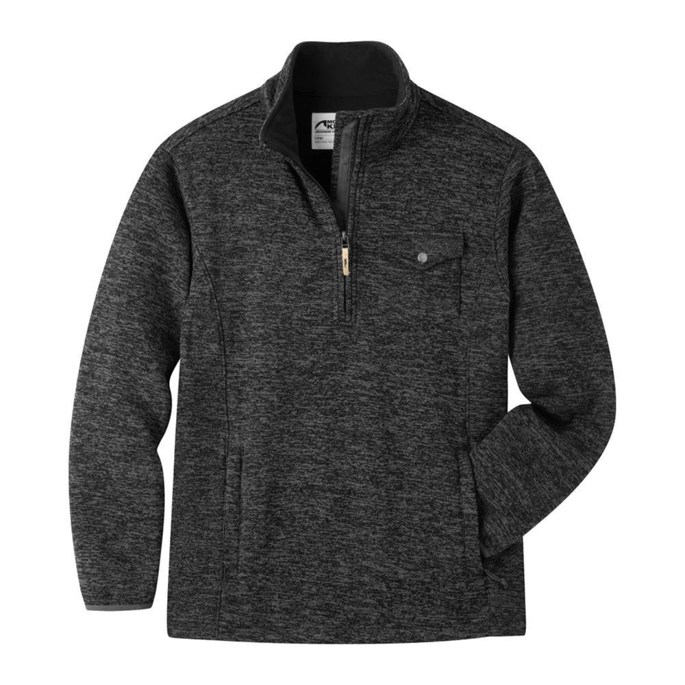 Mountain Khakis Men's Old Faithful 1/4 Zip Sweater BLACK