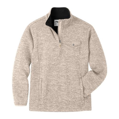 Mountain Khakis Men's Old Faithful 1/4 Zip Sweater OATMEAL