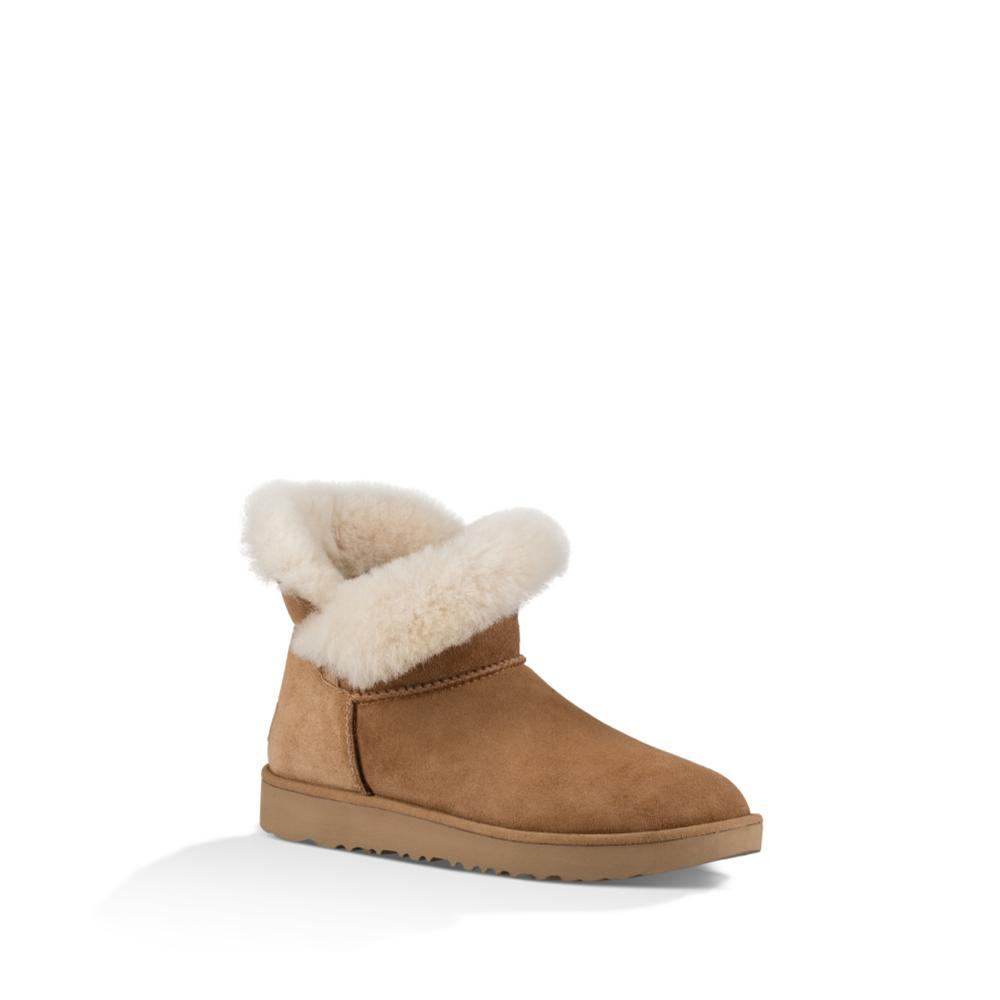 Ugg Women's Classic Cuff Mini Boots CHESTNUT