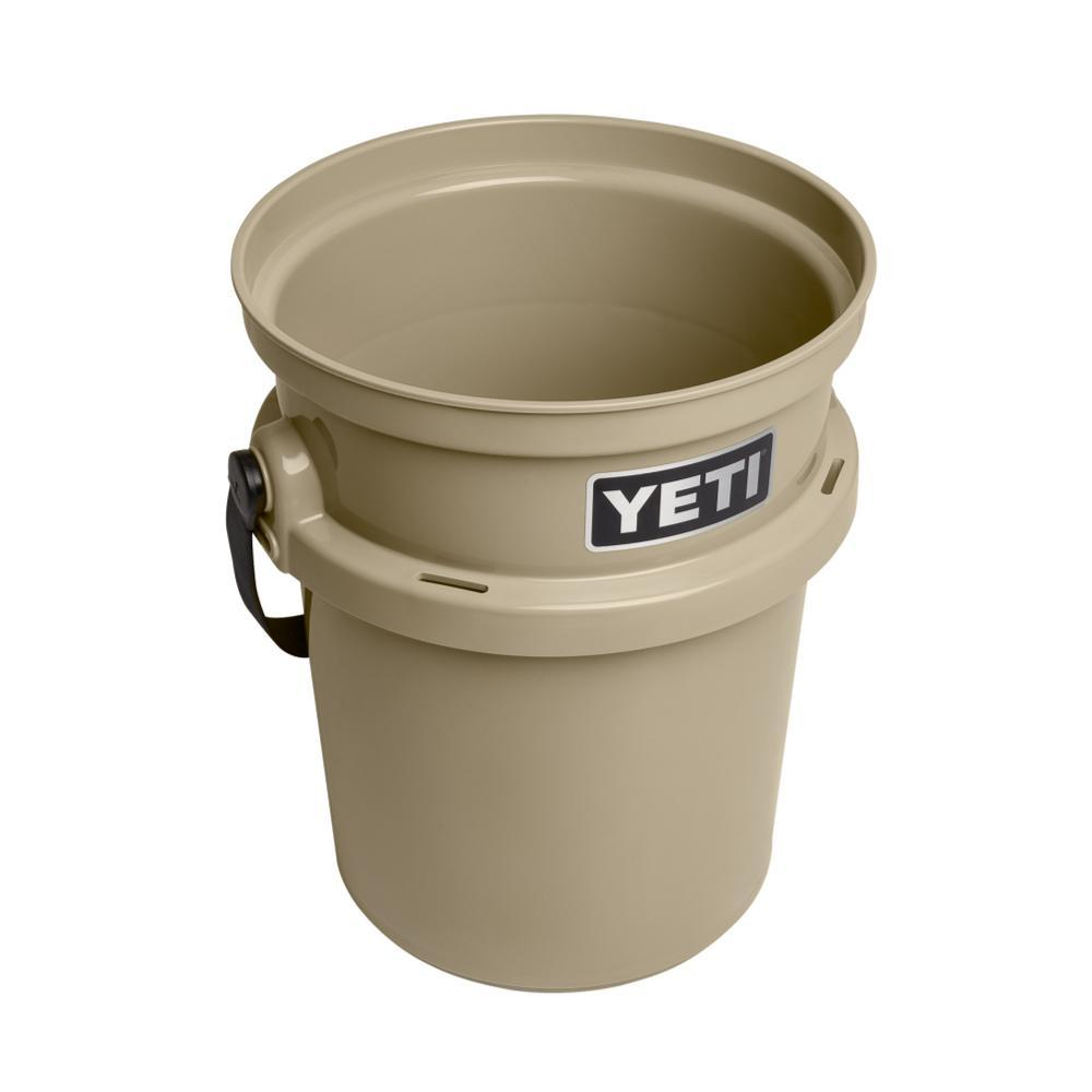 YETI LoadOut 5-Gallon Bucket TAN