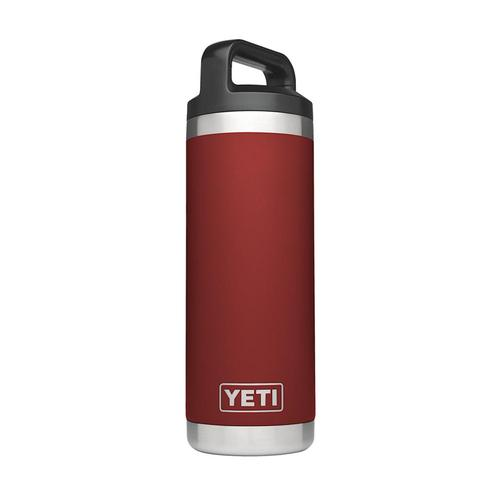 Yeti Rambler 18oz Bottle Brick.Red