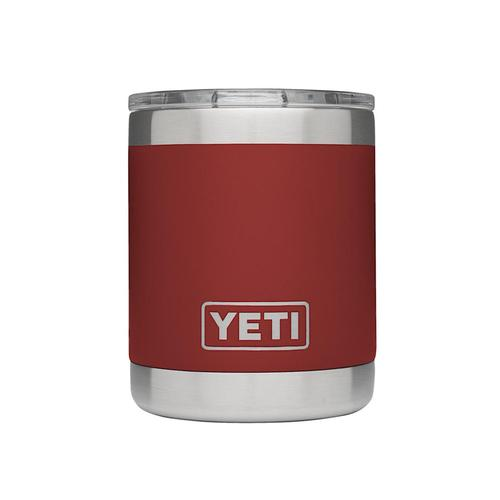 YETI Rambler 10oz Lowball Brick.Red